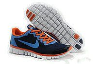 Nike Free Running Shoes for Men Orange Blue Black White Online with Top Quality on Sale Blue Orange, Navy Blue, Nike Shoes, Sneakers Nike, Nike Free 3, Running Shoes For Men, Nike Men, Black And White, How To Wear