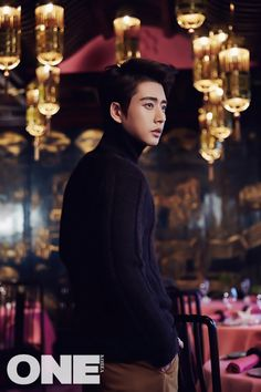 Park Hae Jin ONE Magazine Korea China November 2015 photos