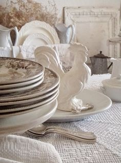Setting a French Table