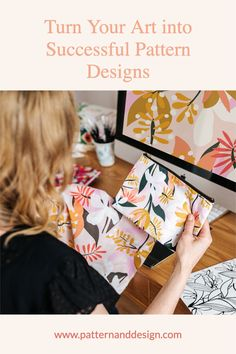 Pattern and Design is the place to get started to learn about creating pattern repeats. Learn lots of tips, tutorials and inspiration for your textile design or surface pattern design business. Kids Patterns, Floral Patterns, Textile Design, Fabric Design, Creative Class, Inspiration For Kids, Surface Pattern Design, Repeating Patterns, Geometric Designs