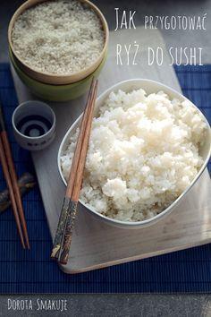 Jak przygotować ryz do sushi - poradnik