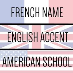 """French name. English accent. American school. Anna confused."" // Anna and the French Kiss Quote art from The Book Addict's Guide!"