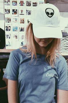 Brandy ♥ Melville | Katherine Alien Patch Cap - Accessories