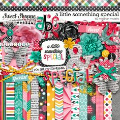 Sweet Shoppe Designs :: NEW Releases :: New Releases - Digital Scrapbook Day :: A LIttle Something Special by Meghan Mullens