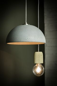 Ideas Modern Pendant Lighting Concrete Lamp For 2019 Led Light Design, Modern Lighting Design, Interior Lighting, Home Lighting, Concrete Light, Concrete Lamp, Beton Design, Concrete Design, Dining Lighting