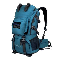 9de8ee39776e Internal Frame Climbing Bag Waterproof Terylene Material Unisex Travel  Camping Sport Outdoor Backpack has the Rain Cover