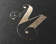 Maillot . Graphic Design . Logotype . Logo . Font . Quality print . Gold on black . Font .
