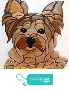 This Yorkie, Dog, will steal your Heart, wood sculptured wall art. from Gallery At Kingston http://www.amazon.com/dp/B015J5GNE2/ref=hnd_sw_r_pi_dp_N9jywb01HCT8F #handmadeatamazon