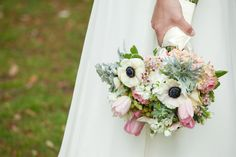 Bridal bouquet by Madame Chrysanthemum, Savannah Wedding Florist