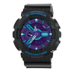 GA110HC-1A Casio G-Shock Limited Edition Blue and Purple Unisex Watch:Amazon:Watches