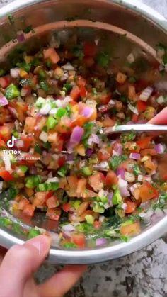 Veggie Recipes, Mexican Food Recipes, Appetizer Recipes, New Recipes, Salad Recipes, Chicken Recipes, Cooking Recipes, Favorite Recipes, Appetizers