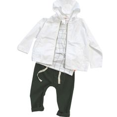 Hose  «Solid» von Tinycottons - weloveyoulove  - 2 Baby Boy Fashion, Kids Fashion, Toddler Girl, Baby Kids, Rain Jacket, Kids Outfits, Windbreaker, Raincoat, Hoodies