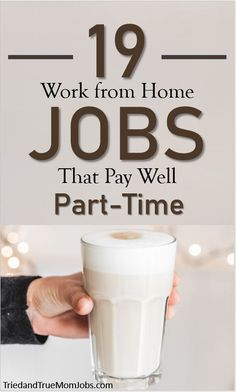 19 Best Online Jobs from Home that Pay Well Are you looking for ways to make more money from home? You have to check out these little-known jobs that pay really well that others are doing today. Check it out and see which one you'd like to do. Best Online Jobs, Online Jobs From Home, Work From Home Jobs, Best Money Saving Tips, Money Saving Mom, Money Tips, Earn Money From Home, Earn Money Online, Way To Make Money