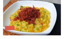 Essa receita de risoto de abóbora e carne seca é muito gostosa e impressiona pelo visual de prato gourmet. Veja como é fácil fazer!