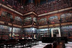 AN OLD LIBRARY IN RIO DE JANEIRO CITY - BRASIL | In this pla… | Flickr