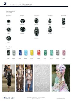 Jablonex® - FILIGREE BEADS V