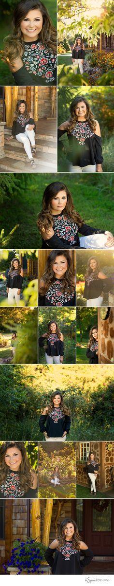 d-Squared Designs St. Louis, MO Senior Photography. Jackson High School Senior. Summer senior session. Gorgeous brunette. Senior girl posing.