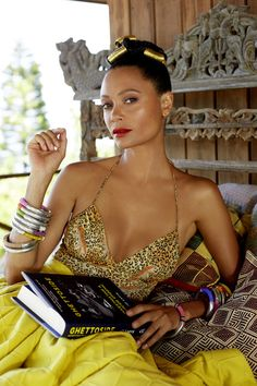 FEATURE: British Actress Thandie Newton Celebrates Africa's Women And Fashion In Latest Issue Of New African Woman - AFROPUNK