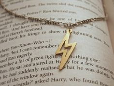 Lighting (scar) necklace