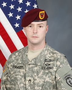 Army SSG. Thomas K. Fogarty, 30, of Alameda, California. Died May 6, 2012, serving during Operation Enduring Freedom. Assigned to 3rd Battalion (Airborne), 509th Infantry Regiment, 4th Brigade Combat Team (Airborne), 25th Infantry Division, Joint Base Elmendorf-Richardson, Alaska. Died in Ahmad-Kheyl, Afghanistan, from injuries sustained when enemy forces attacked his unit with an improvised explosive device.