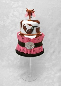 Barrel Racing By MacsMom on CakeCentral.com  This was Katy's cake for her 12th birthday - Absolutely Gorgeous !!