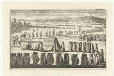 Begrafenis van Hendrik Adriaan van Rheede tot Drakestein, 1692, Jan Luyken, 1692 - 1693