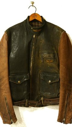 Vintage Leather Jacket, Leather Jackets, Men's Coats And Jackets, Mens Gloves, Real Leather, Male Style, Mens Fashion, Jacket Men, Black Opal