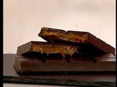 Barrette di cioccolato alle albicocche