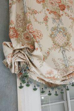 Custom Shirred Cloud BALLOON VALANCE You Pick Fabric | eBay
