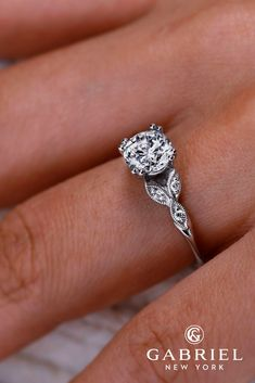 Gabriel And Co Engagement Rings Extraordinaire See more: #weddings