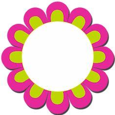 i-Cikgu | Bahan Bantu Mengajar: Frame Bunga Garden Theme Classroom, Teacher Classroom Decorations, Classroom Birthday, School Decorations, Frame Border Design, Page Borders Design, Flower Frame, Flower Art, School Board Decoration