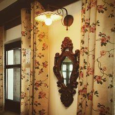 Conac | Boutique Hotel | Conacul Bratescu | Mansion | Bran, Brasov , Romania | Room | Rustic | Charming Vista 7 | Camera rustica | Interior | Design | Mobilier pictat | Traditie Candle Sconces, Architecture, Wall Lights, Candles, Rustic, Boutique, Mansions, Interior Design, Lighting