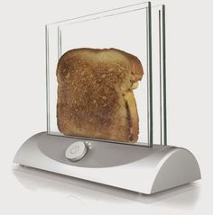 Cool transparent glass toaster is just what you need for a high-tech style kitchen. Description from pinterest.com. I searched for this on bing.com/images
