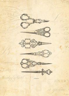 vintage scissors @hanna elayne