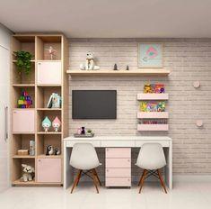 Study Room Design, Study Room Decor, Small Room Design, Room Design Bedroom, Girl Bedroom Designs, Small Room Bedroom, Room Ideas Bedroom, Home Room Design, Home Office Design