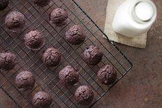 Brownie Bites by @SlimPalate