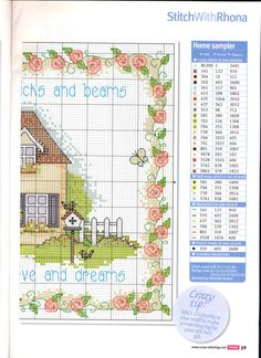 Gallery.ru / Photo # 22 - Cross Stitch Crazy 167 + application in September 2012 Summer fun - tymannost