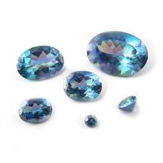 These beautiful aqua faceted gemstones are a natural topaz which has been treated to give it it's beautiful dazzle of kaleidoscope Caribbean sea colours. Sea Colour, Topaz Gemstone, Jewelry Making Supplies, Color Change, Iridescent, Aqua, Colours, Gemstones, Crystals