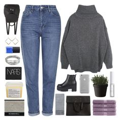 """""""EMMYLOU"""" by seasidevibes-xo ❤ liked on Polyvore featuring Maison Margiela, Topshop, Christy, Case-Mate, Boohoo, Whistles, Lord & Berry, Muuto, Davines and NARS Cosmetics"""