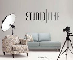Introducing Studio Line Collection by Trendline Fine Furniture, Couch, Studio, Decorating Ideas, Home Decor, Collection, Food, Homemade Home Decor, Sofa