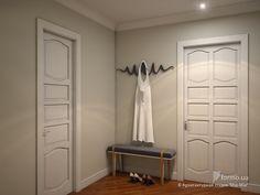 Küçük siyah Mimarlık Stüdyo & quot; Mia-Mia & quot; Hall / Koridor, İç Tasarım Formo.ua