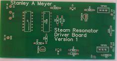 Stanley A Meyer Steam Resonator Ciircuit Heat Steam Defrost Energy Storage, Positivity, Ebay