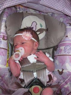 newborn girl in car seat | Report
