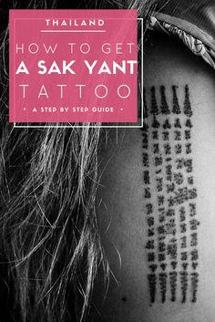 I got a Sak Yant tattoo by a monk in Thailand and I'll tell you exactly how you can too.