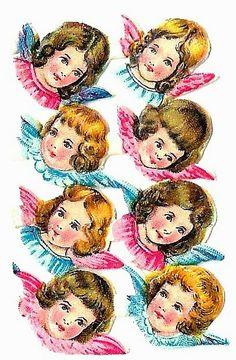 Free Vintage Scrap: Angel Children