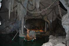 Gruta de Vénus - As luzes instaladas na Gruta foram um dos primeiros trabalhos elétricos realizados na Bavária.
