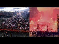 Polish Independence Day MARCH 2017, shocking view! Marsz Niepodległości ...