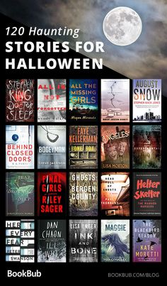 120 Books to Read for Halloween It's getting closer and closer to Halloween! Prep for the spooky holiday with 120 creepy stories… remember to read with the lights on. Best Books To Read, I Love Books, New Books, Good Books, Books For Fall, Book Challenge, Reading Challenge, Book Suggestions, Book Recommendations