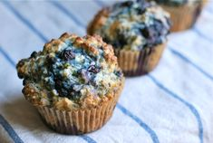 Old-fashioned blueberry muffin recipe from The Naptime Chef's new cookbook!