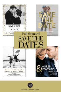 Discover premium wedding invitations and save the date cards on a